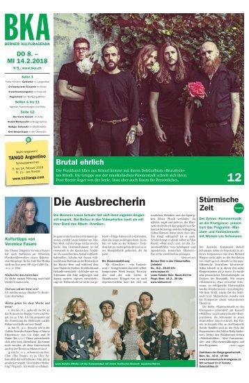 Berner Kulturagenda 2018 N°5