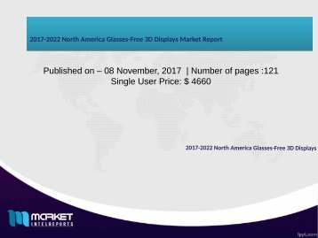 2017-2022 North America Glasses-Free 3D Displays Market Report