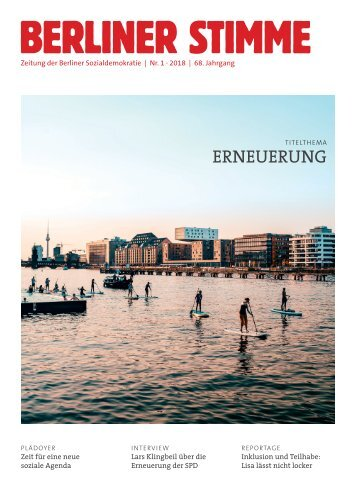 Berliner Stimme Nr. 1 2018