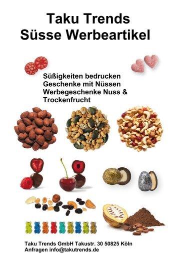 Werbegeschenk Nüsse