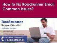 Roadrunner Email Common Issues Call 1-888-909-0535 Roadrunner Support Number