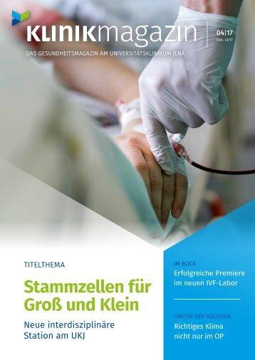 UKJ Klinikmagazin 04/2017