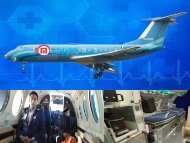 Medivic Aviation Air Ambulance Patna to Delhi with Full ICU Setups