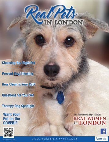 Real Pets in London Magazine