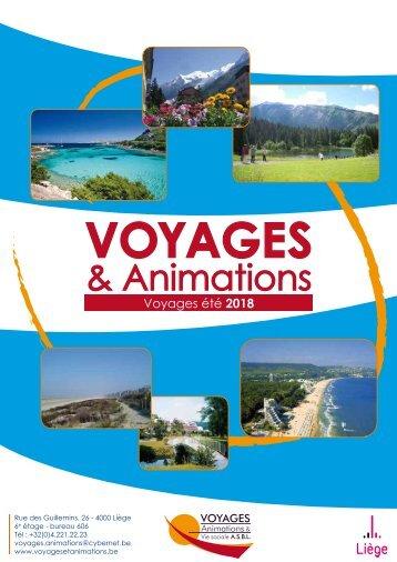 Voyages et Animations - Eté 2018