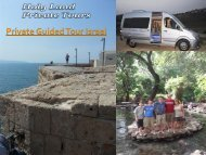 Private Guided Tour Israel