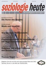 soziologie heute Februar 2015