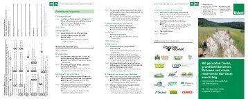 Internationale Bioland Schaf- und Ziegentagung 2012 - Verband für ...