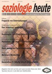 soziologie heute Oktober 2015