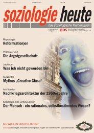 soziologie heute August 2016
