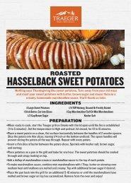 Roasted Hasselback Sweet Potatoes