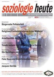soziologie heute Februar 2017
