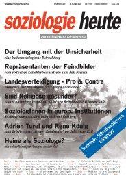 soziologie heute Februar 2012