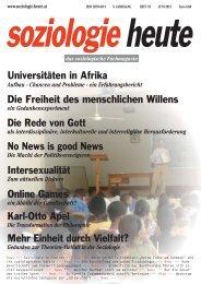 soziologie heute Juni 2012