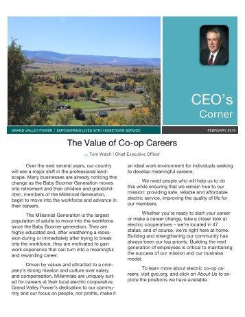 Feb 2018_CEO newsletter
