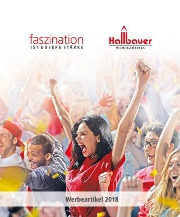 Blätterkatalog 2018 Hallbauer