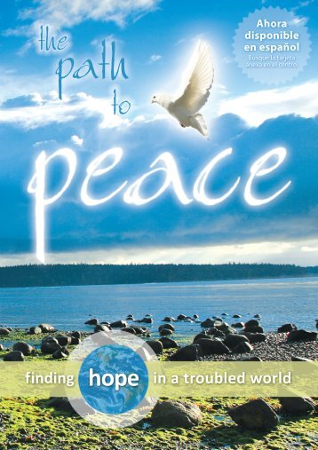 The Path to Peace