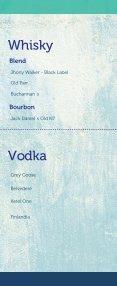Menú de bebidas Restaurante Los Farallones - Page 2
