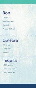 Menú de bebidas Restaurante Los Farallones - Page 3