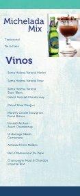 Menú de bebidas Restaurante Los Farallones - Page 5