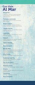 Menú de bebidas Restaurante Los Farallones - Page 6