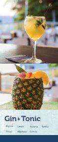 Menú de bebidas Restaurante Los Farallones - Page 7