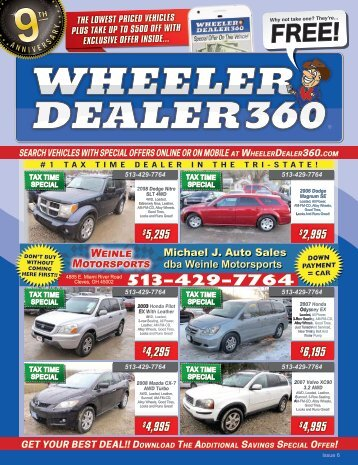 Wheeler Dealer 360 Issue 6, 2018