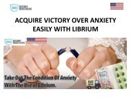 ACQUIRE VICTORY OVER ANXIETY EASILY WITH LIBRIUM