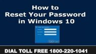 How to Reset Your Lost Windows 10 Passwords 18002201041