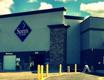 Sams club 5 minutes drive to the east of Smile Shoppe Pediatric Dentistry, Springdale, AR -  72762