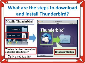 What are the steps to download and install Thunderbird?