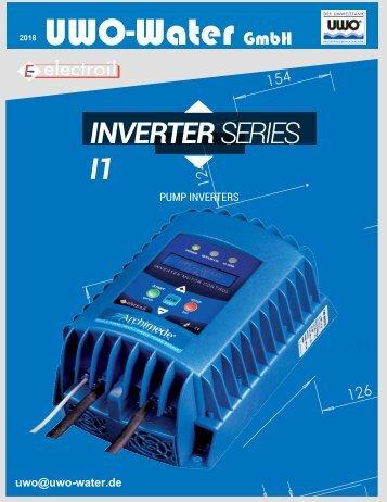 UWO-Water Broschüre Inverter/Frequenzumrichter
