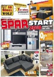 SB Möbel Wolf Brandenburg: Spar-Start 2018