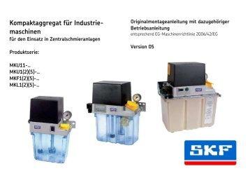 Kompaktaggregat für Industriemaschinen