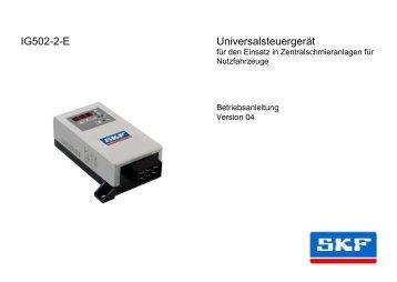 Universalsteuergerät IG502-2