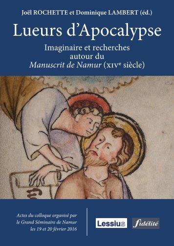Lueurs d'Apocalypse. Imaginaire et recherches autour du Mauscrit de Namur (XIVe siècle)