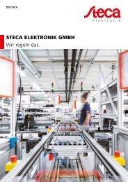 Steca Elektronik Unternehmensbroschüre (06 2018)