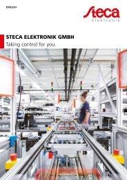 Steca Elektronik Company brochure (06 2018)