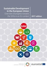 Sustainable Development in the European Union: Overview of progress towards the SDGs in an EU context