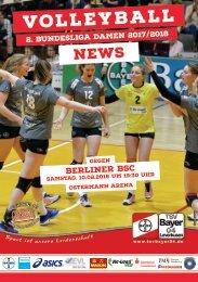 Spieltagsnews Nr. 10 gegen Berliner BSC