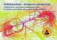 2018-02-07 Politikbrief zur Hessischen Landtagswahl 2018
