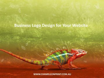 Business Logo Design for Your Website - Chameleon Print Group