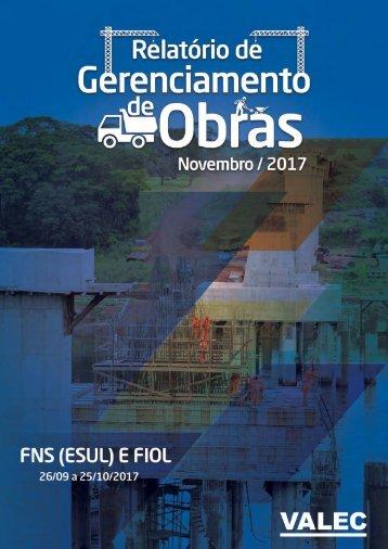 Relatório de Obras 11 2017