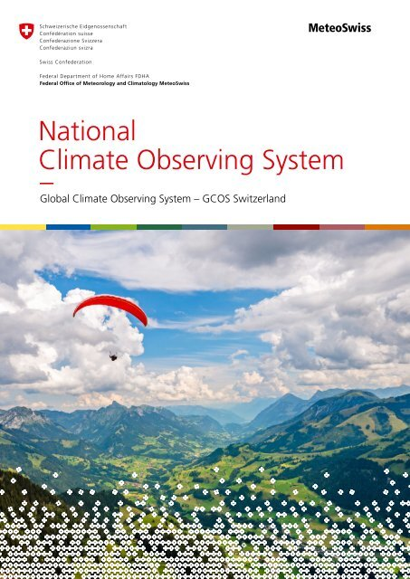 National Climate Observing System - GCOS Switzerland. Update 2018