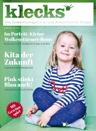 Klecks Magazin 1/2018