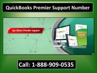 Call 1-888-909-0535 QuickBooks Premier Support Number