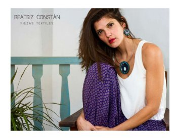 CATALOGO 2018 BEATRIZ CONSTAN