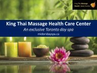 EXclusive Toronto Day Spa