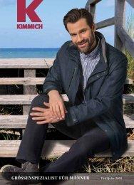 Kimmich Mode-Versand | Größenspezialist für Männermode | Frühjahr 2018