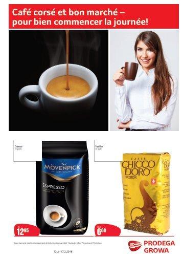 Starker Kaffee für Mitarbeiter FR